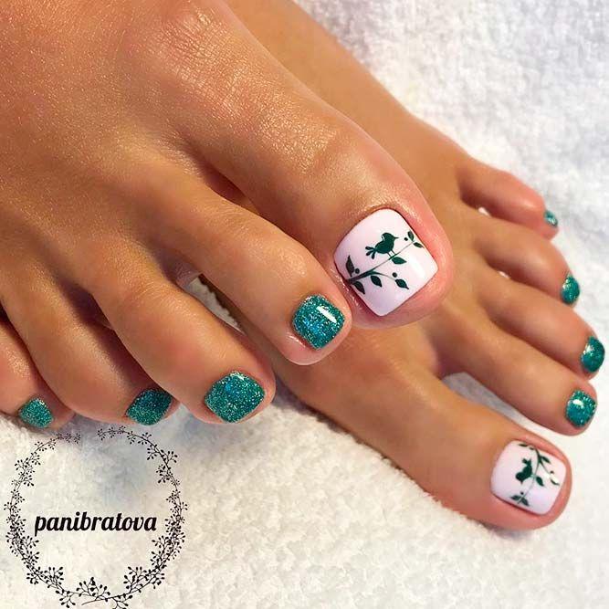 25+ unique Painted toe nails ideas on Pinterest | Cute ...