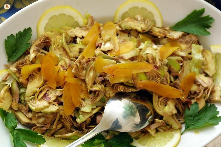 Carciofi in insalata