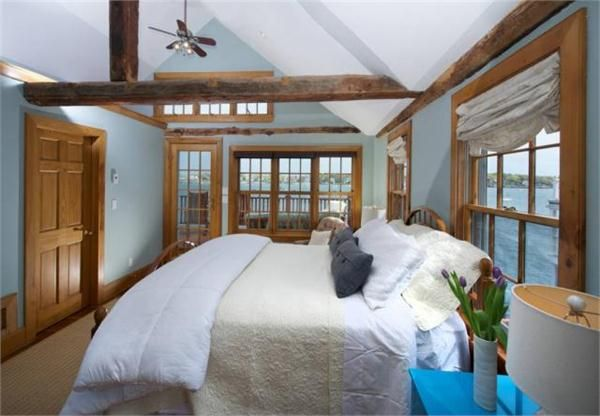 Country Bedrooms: Design Elements & Ideas - Muted Blues on HomePortfolio by Diana James