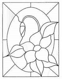 desenho para vitral