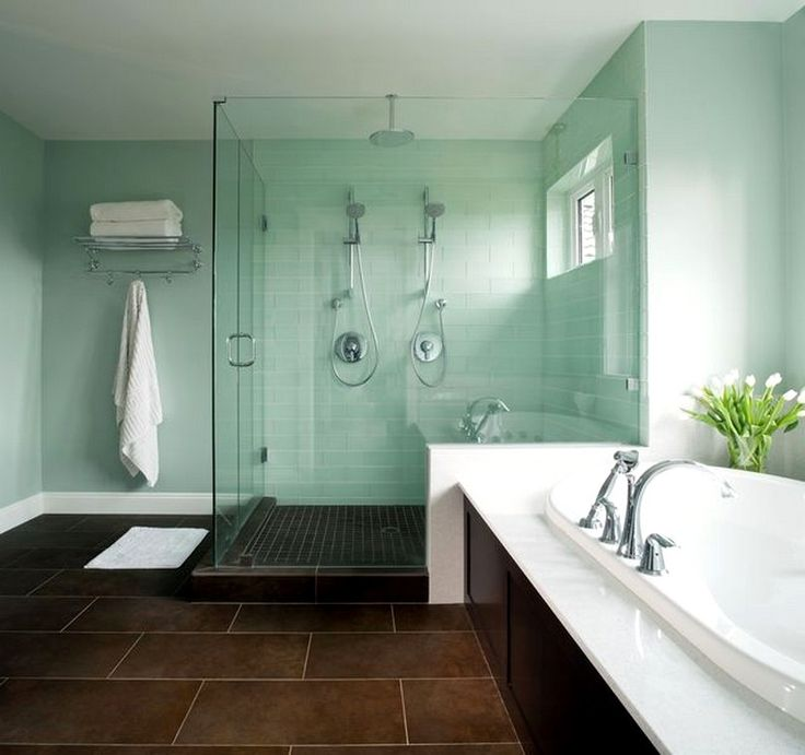 Great Bathrooms On a Budget | ... Bathroom Designs Ideas With Glass Shower: