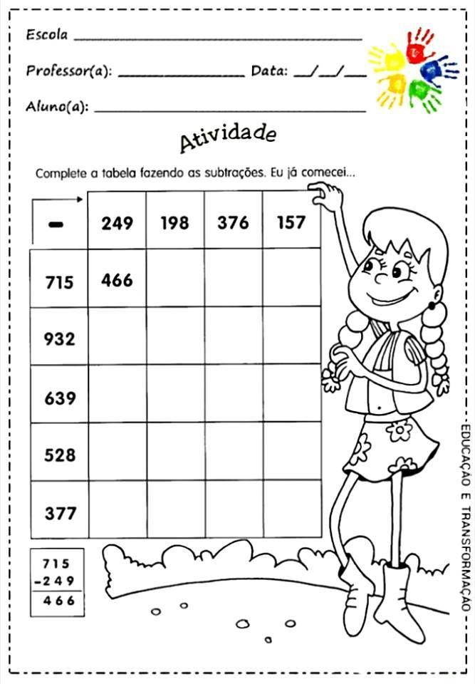 Mejores 30 imágenes de Írásbeli kivonás en Pinterest | Matemáticas ...
