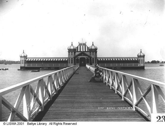 Perth City Baths, 1900s