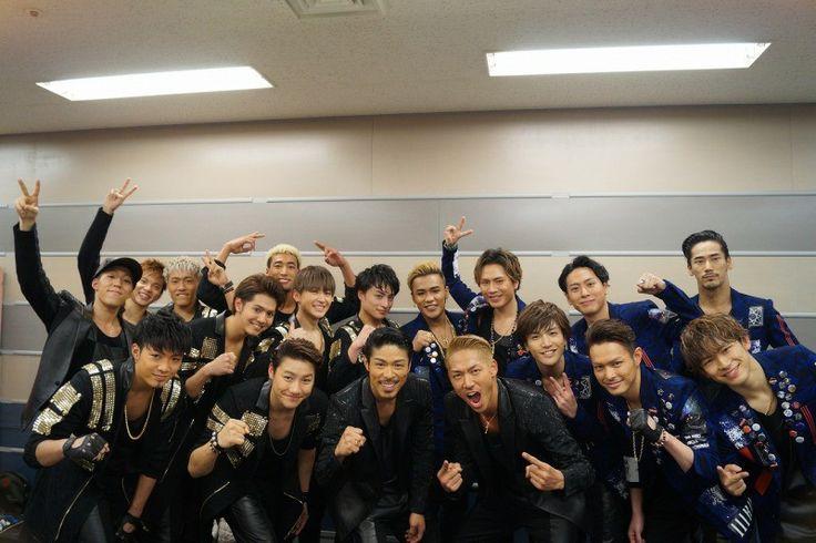Imaichi Ryuji & Tosaka Hiroomi & Iwata Takanori & Yamashita Kenjiro & Elly & Naoto & Naoki Sandaime J Soul Brothers & Exile Tribe