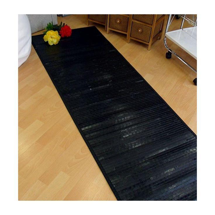 Las alfombras de bambú son flexibles, ligeras y duraderas. Alfombras bambú para pasillo hasta 3,5 mts