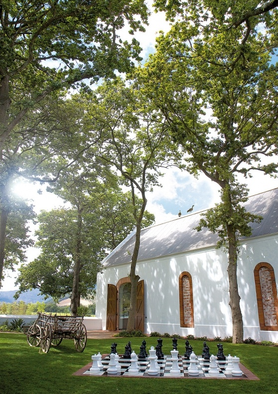 La Motte wine estate in Franschhoek. South Africa