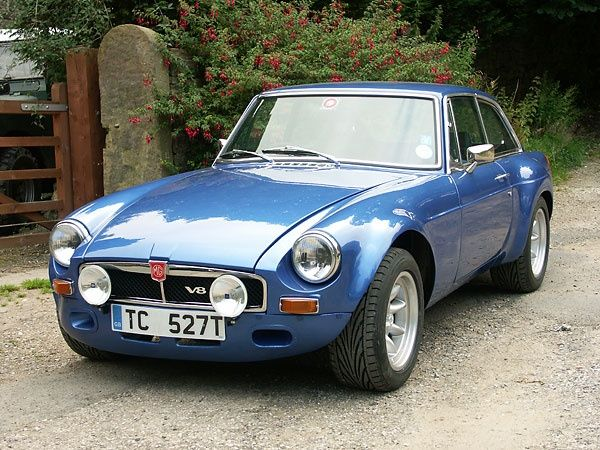 1979 MGB-GT Sebring V8 [wow. I bet that was a thrill ride to slide. ~sdh/HHBakes.com]