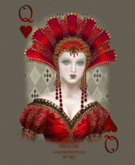 Image detail for -Maxine Gadd~Queen of Hearts