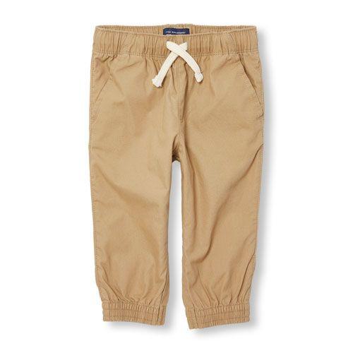 s Toddler Boys Jogger Pants - Tan - The Children's Place