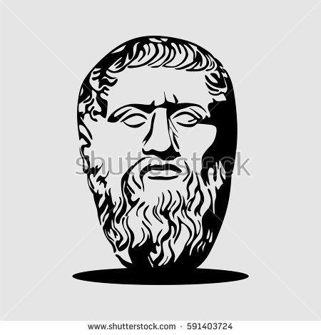 Plato stone vector art