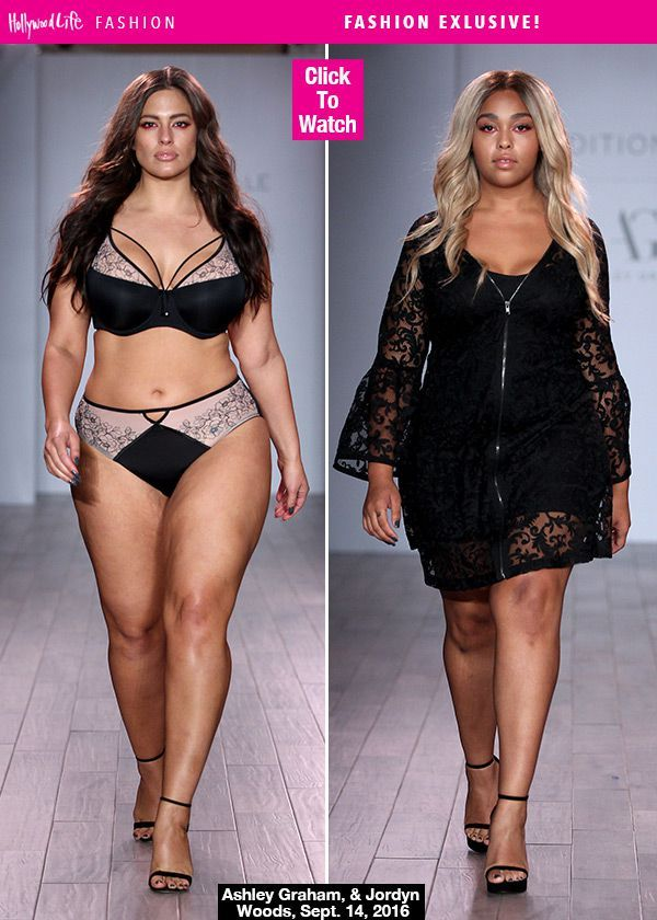 Ashley Graham Models Lingerie On The Runway: How She Learned To 'Love' Her Cellulite