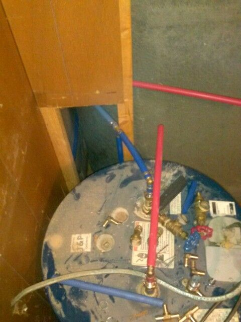 More pex plumbing housework pinterest plumbing for Pex water line problems