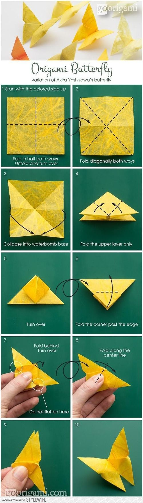 origami butterfly /papillon