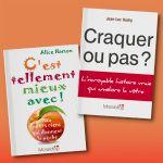 A deux, c'est (encore) mieux !  Deux livres différents et complémentaires, deux livres inspirants qui vous rendent plus heureux. Tout simplement. #livre #livrealire #ldeveloppementpersonnel #confianceensoi  #optimisme #bienetre #humour #astuce #histoirevraie #mieuxvivre
