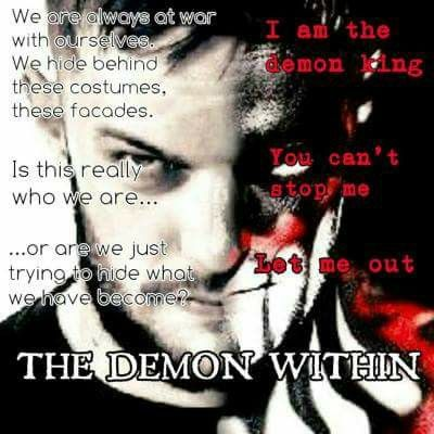 The demon with in #finn balor
