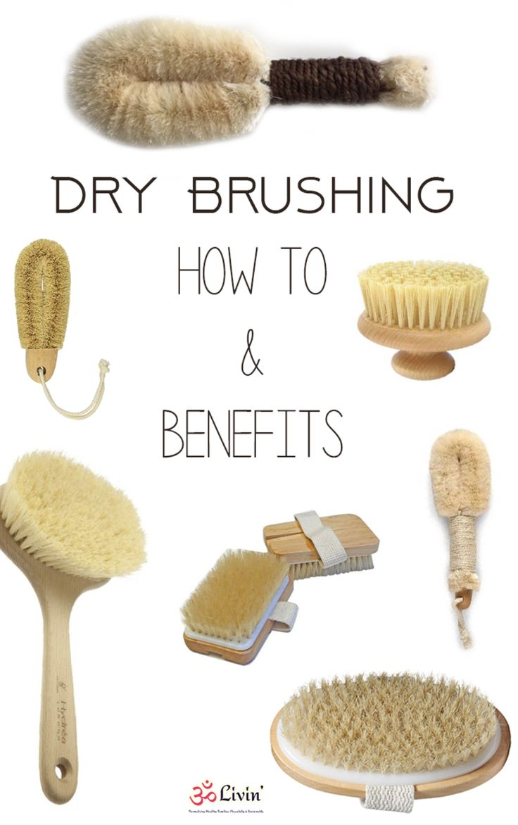 Quickly learn the benefits of Dry Brushing, and how to dry brush correctly. Great for the lymphatic system! http://omlivin.com/dry-brushing-benefits/?utm_campaign=coschedule&utm_source=pinterest&utm_medium=Om%20Livin&utm_content=What%20You%20Need%20to%20Know%20About%20Dry%20Brushing%20%7BHow%20to%20and%20Benefits%7D