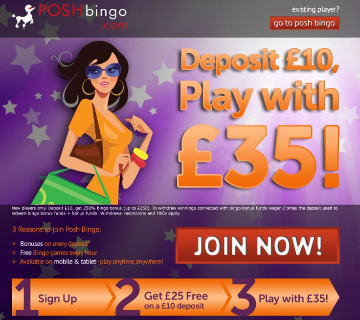 Bingo games with free signup bonus gambling in a sentence