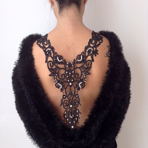 Check out this item in my Etsy shop https://www.etsy.com/listing/259559760/back-neckline-necklace-sexycustom-design