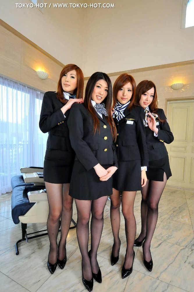 Mmmm Yes Please Stewardess Pantyhose Flight