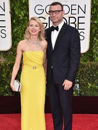 Naomi Watts and Liev Schreiber.