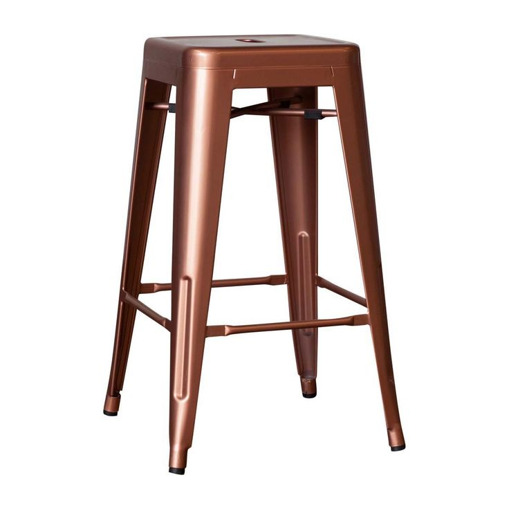 Shop Industrial Bar Stools Online or Visit Our Showrooms To Get Inspired With The Latest Bar Stools From Life Interiors - Paris Bar Stool (Copper)