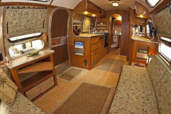 Vintage Airstream Interiors Brokeasshome Com Camper Interior Design Airstream Airstream Trailers For Sale