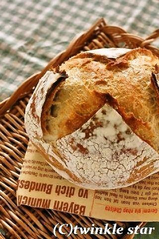Coupe Junkiesのパン 」自家製酵母のふんわりカンパーニュ by unaさん ...
