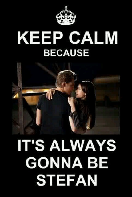 Elena what are you doing with Damon ...... its always going to be STEFAN <3 @Lindsay Dillon Gordon