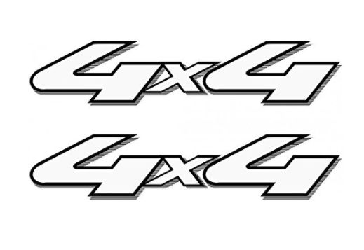 "1997 - 2004 Ford Ranger 4x4 OFF ROAD Bedside Precision Cut Vinyl Decal, Set of 2 - 13.5""W x 4.3""H Aftermarket"