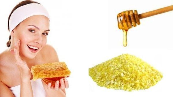 Gommage Visage maison miel
