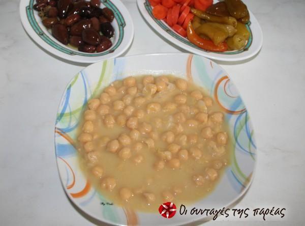 Chickpeas in flour and lemon sauce #cooklikegreeks #chickpeas