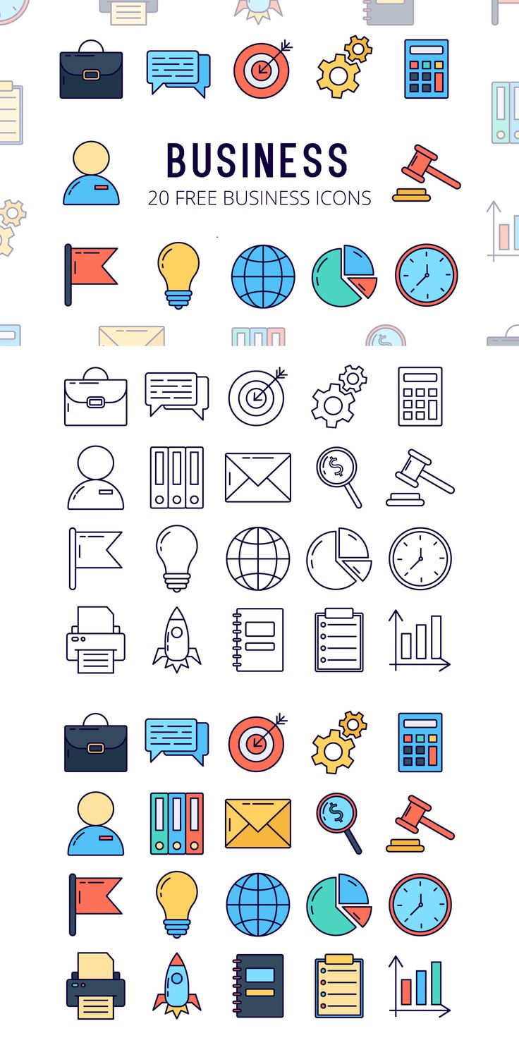 Business Vector Free Icon Set is a collection of t…