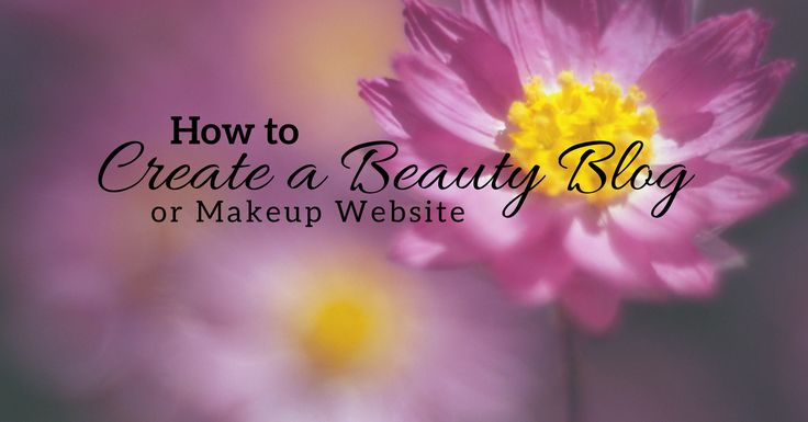 Here's how to create a beauty blog or makeup website from scratch with WordPress, including screenshots, resources, and step by step instructions.