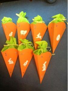 Meine kreative Welt: Osterverpackung in Karottenform (Möhren)