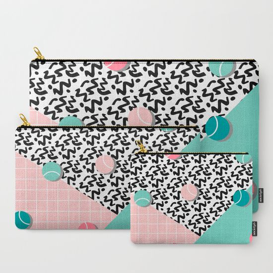 Tennis Pattern #society6 #decor #buyart Carry-All Pouch