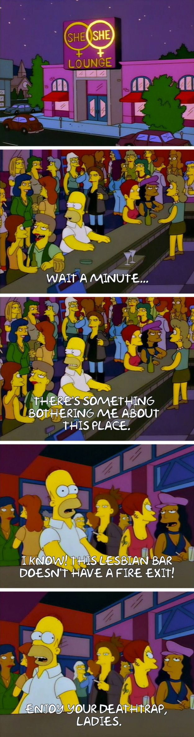 """From """"Fear of Flying"""": 