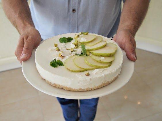 No-bake goat cheesecake
