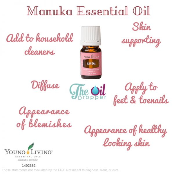 Do you know about the amazing benefits of manuka?? Now available as an essential oil from Young Living. Only the best and purest!! http://www.theoildropper.com/manuka-essential-oil/