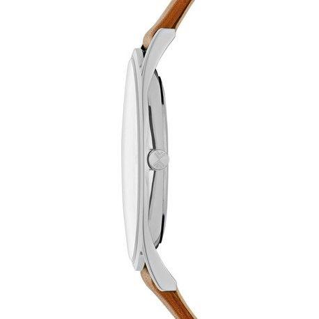 Zoom sur le boîtier de la montre homme Skagen SKW6219