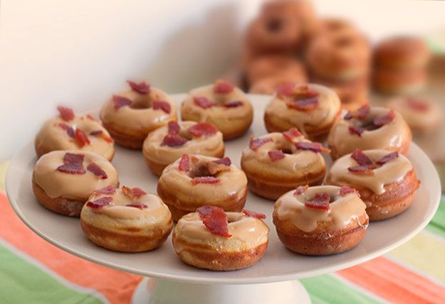 Mini Maple Spam Doughnuts Recipes — Dishmaps