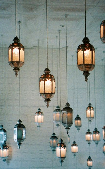 Antique lamps #lighting #lights