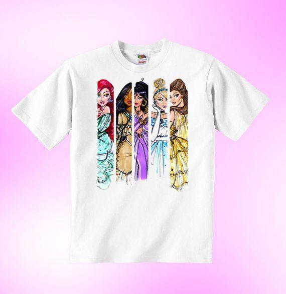 Snow White Princess Vogue long sleeve Disney t-shirt toddler children blouse kid