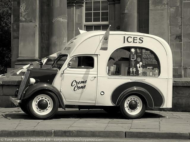 #Vintage ice cream truck | Street Treats Food Truck, #Seattle