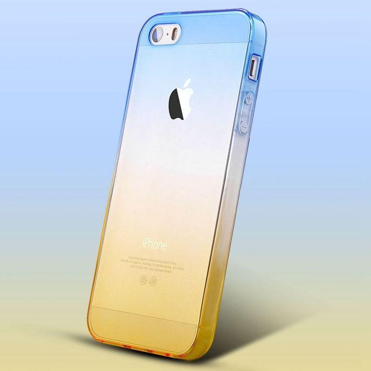 Gradient Color Soft Case For iPhone - envíos gratis en todo el mundo