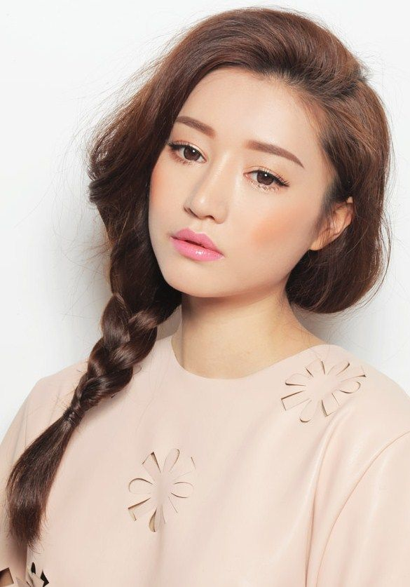 Make Up Wedding Natural Korea : Korean Makeup #stylenanda #braid #doll A S I A N - B E A ...
