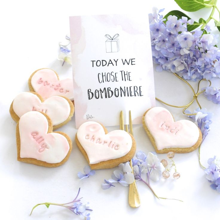 Cookies by SweetP Cakes and Cookies  Watercolour Cookies, Bomboniere, Wedding and Party Favours
