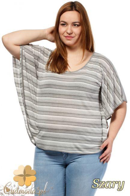Zwiewna bluzka dla kobiet w rozmiarze Size Plus.  #cudmoda #moda #ubrania #xxl #styl #plus_size #odzież #styl #clothes