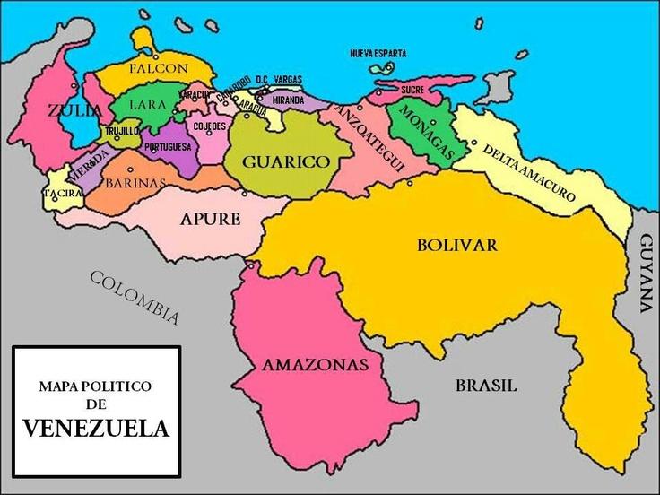 Mapa de Venezuela. Presentaciones de nuestro Planeta, Globos, Mapas, así como las Esferas de Cristal, son excelentes para conectarnos con el Elemento Tierra y activar Sabiduría, Conocimiento y Estudios, en la coordenada Noreste de Salas, Estudios, Oficinas, Habitaciones.