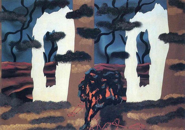 Рене Магритт -  A taste of the invisible  (1927) - Открыть в полный размер