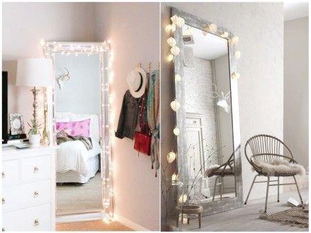 Un espejo de cuerpo entero. Ideas decoración #dormitorios
